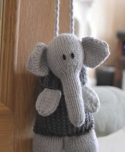 Elephant baggles knitting pattern
