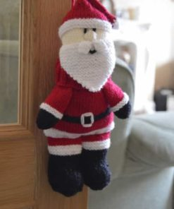 Santa Baggles Gift Bag Knitting Pattern