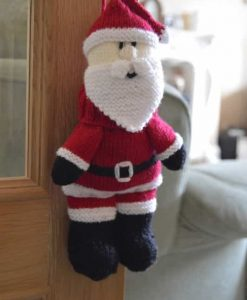 santa knitting pattern