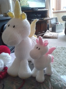 knitted unicorns