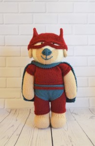 knitted superhero patterns
