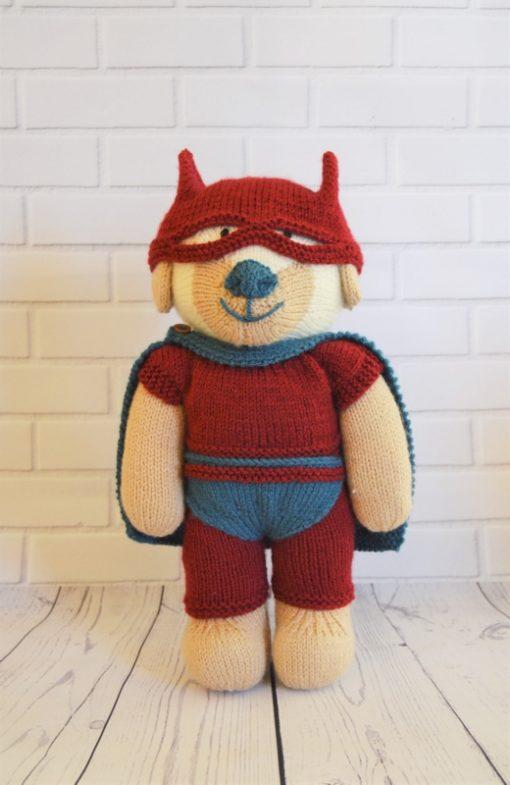 knitted superhero patterns