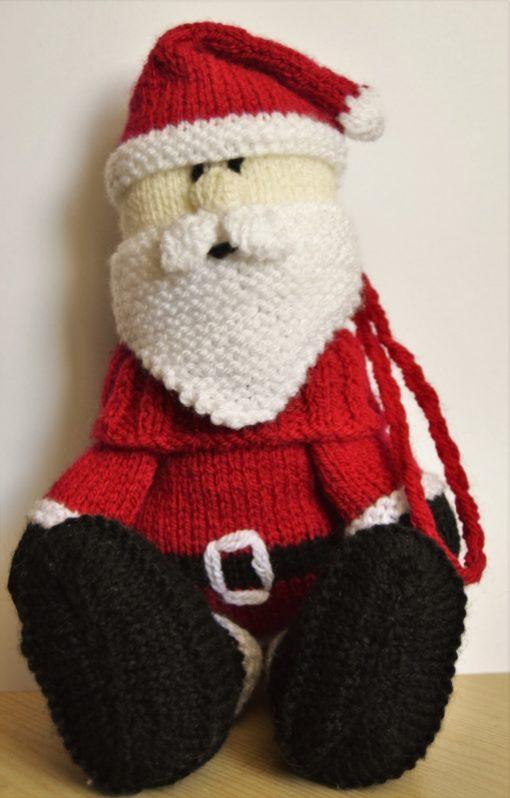 santa knitting pattern