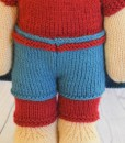 knitted superhero pattern