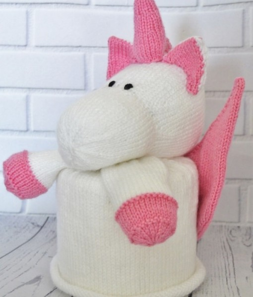 Knitting Pattern For Unicorn Toy : Toy Knitting Patterns from Knitting by Post