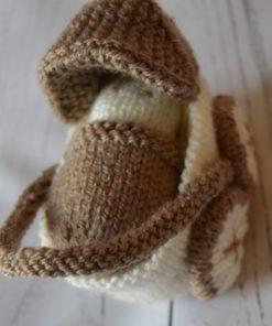 knitted pram pattern