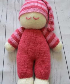 easy toy doll knitting pattern