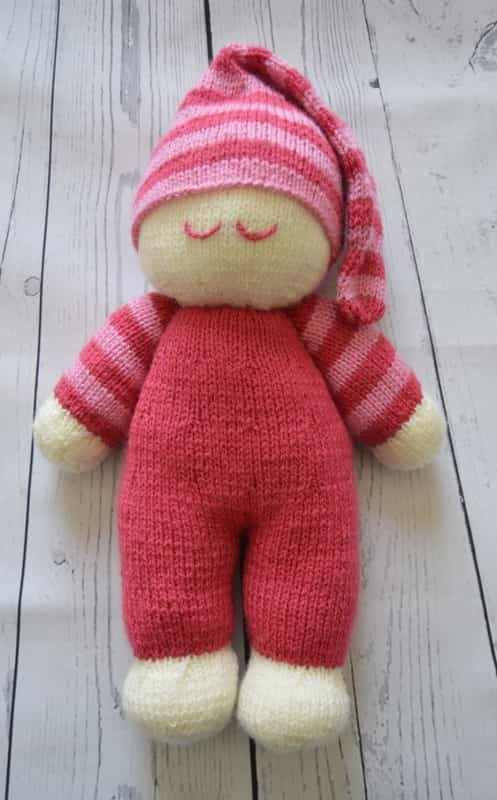 Easy Knit Dolly Soft Toy Knitting Post