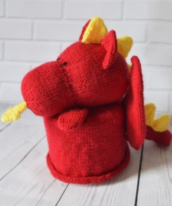 Dragon toilet roll pattern