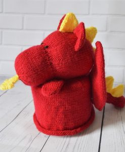 Dragon toilet roll pattern
