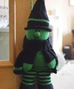 Halloween Gift Bag knitting pattern