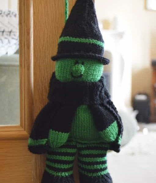 Halloween Gift Bag knitting pattern