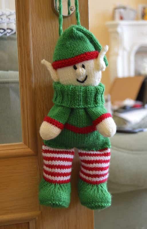 Little Elf Knitting Pattern : Elf Baggles Gift Bag   Knitting by Post