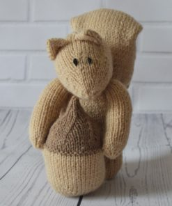 squirrel knitting pattern