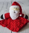 Santa blanket knitting pattern