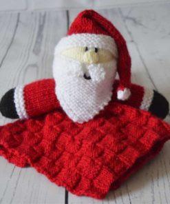 Santa blanket knitting pattern