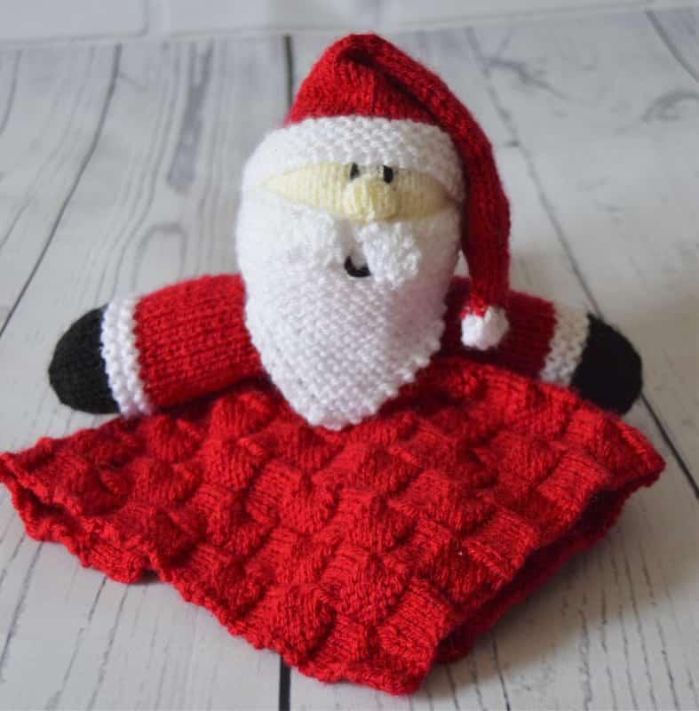 Santa Comforter Blanket Knitting Pattern - Knitting by Post