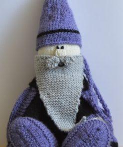 Wizard gift bag knitting pattern