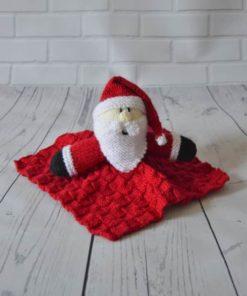 knitted santa pattern
