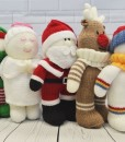 Festive Friends Santa angel reindeer elf snowman