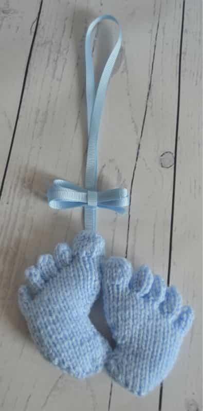 baby feet pram charm