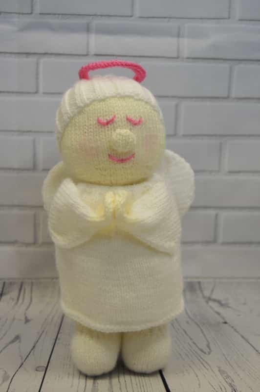 Festive Friends   Angel Knitting Pattern   Knitting by Post