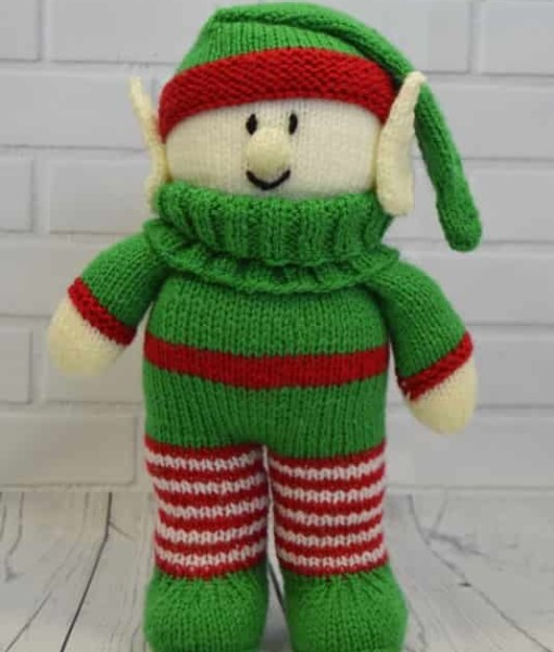 Baby Elf Knitting Pattern : Festive Friends   Elf Knitting Pattern   Knitting by Post