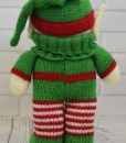 Knitted elf back
