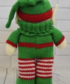 Knitted elf back