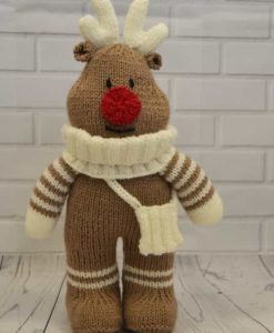 Reindeer knitting pattern