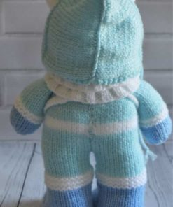 Christmas Bear Knitting Pattern