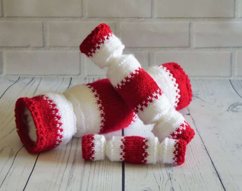 Christmas Cracker Trio Knitting By Post
