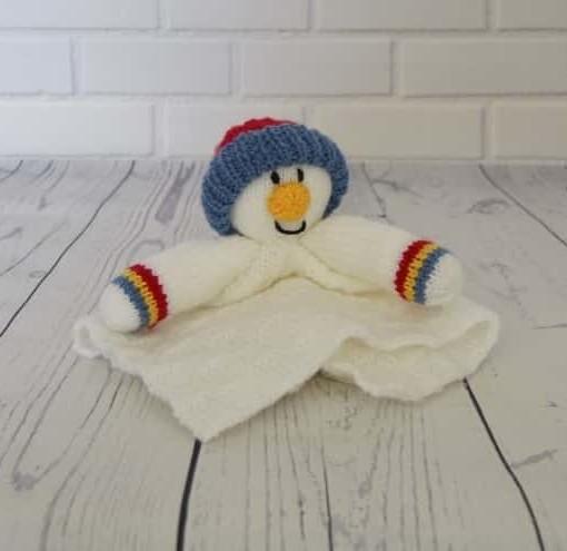 Snowman comforter blanket