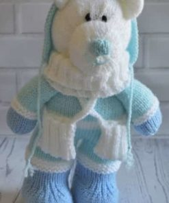 Winter Bear Knitting Pattern