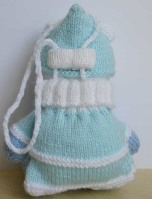 Bear Baggles Knitting Pattern