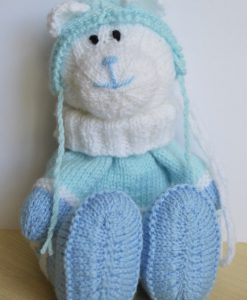 Bear Gift Bag Knitting Pattern