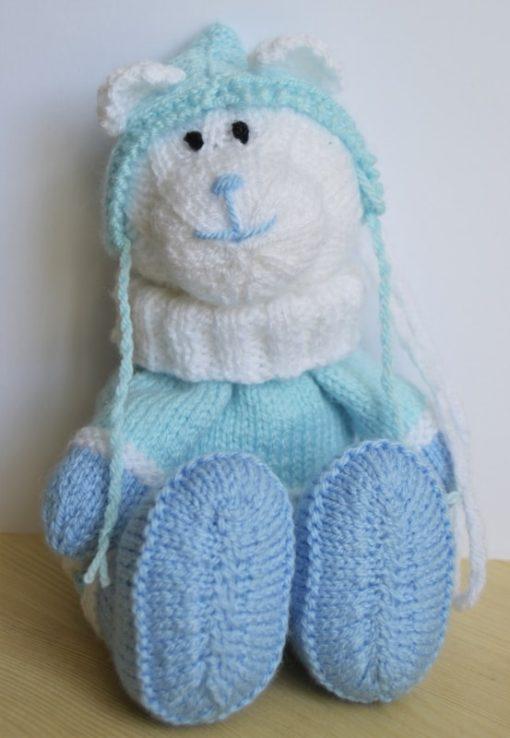 Bear Gift Bag Knitting Pattern