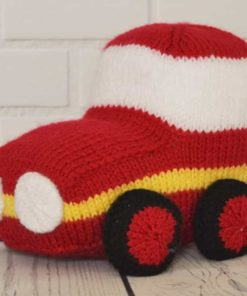 Car knitting pattern