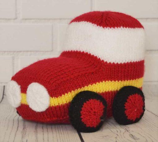 Car knitting pattern