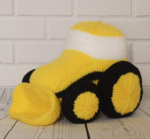 Digger knitting pattern
