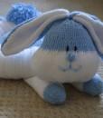 Rabbit bed knitting pattern