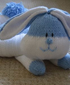 Rabbit bed knitting pattern