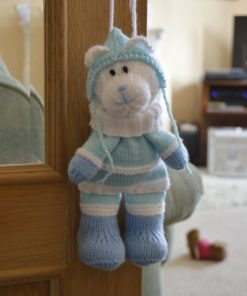 Winter Bear Baggles Knitting Pattern