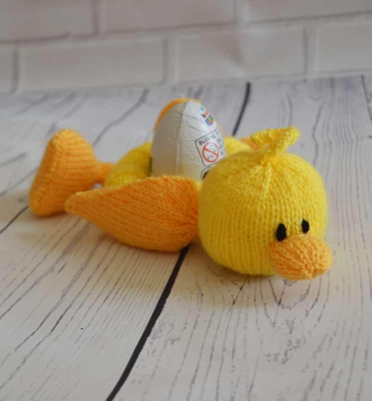 Duck Little Sweetie Knitting Pattern Knitting By Post
