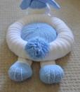 rabbit knitting pattern back