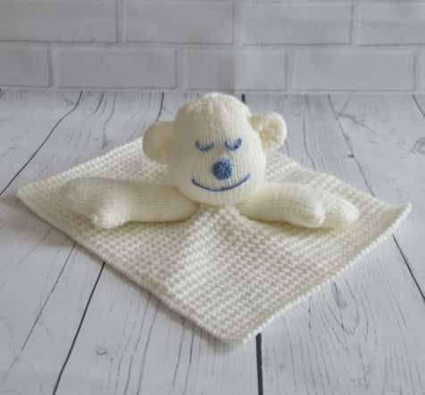 Monkey Baby Blanket Knitting Pattern : Monkey Comforter Blanket Knitting Pattern   Knitting by Post