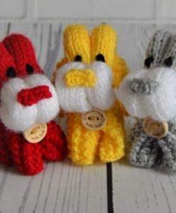 folded dog knitting pattern
