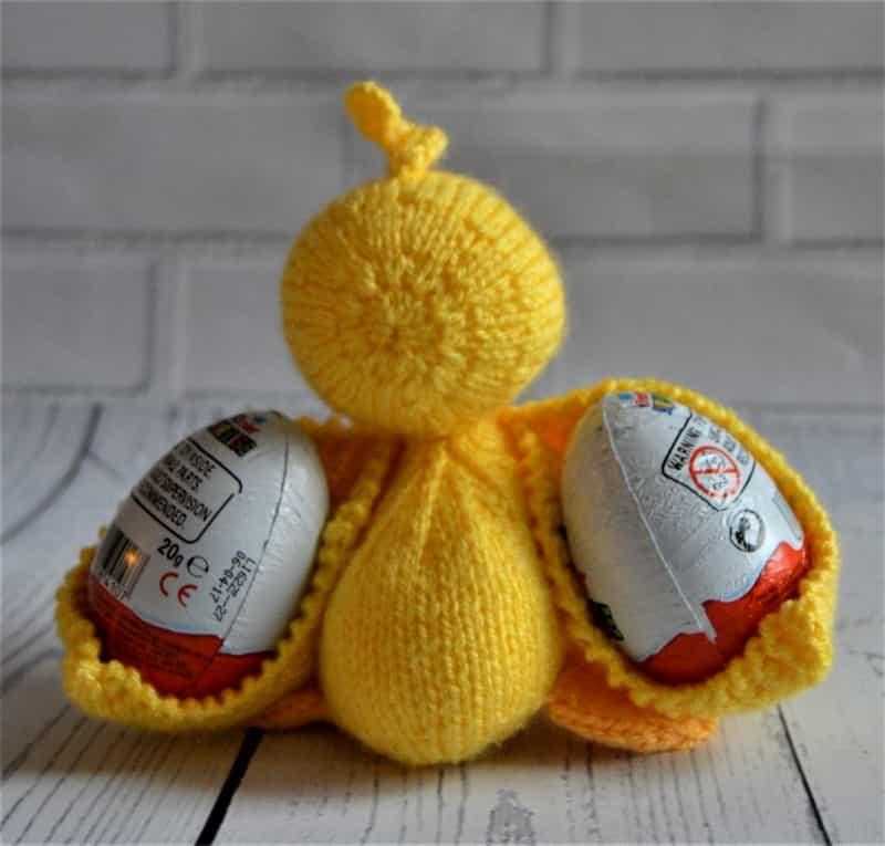 Scramble the Duck Knitting Pattern – Knitting by Post