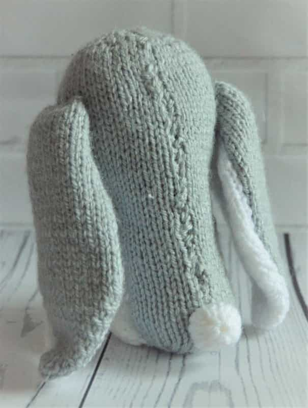 Baby Bunny Toy Knitting Pattern – Knitting by Post