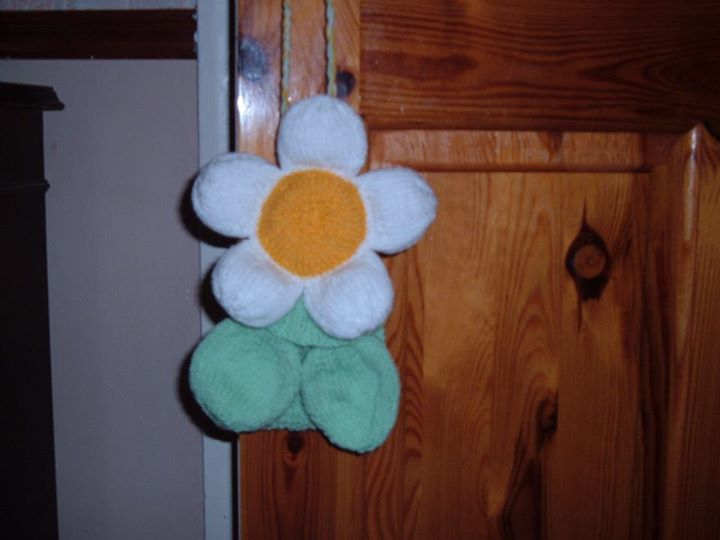 Daisy baggle finished.thankyou for the corrected pattern.